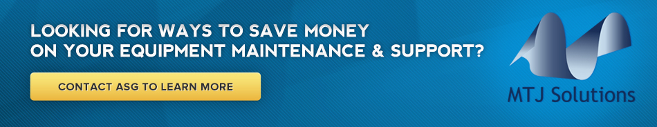 Looking for ways to save money on your equipment maintenance and support?